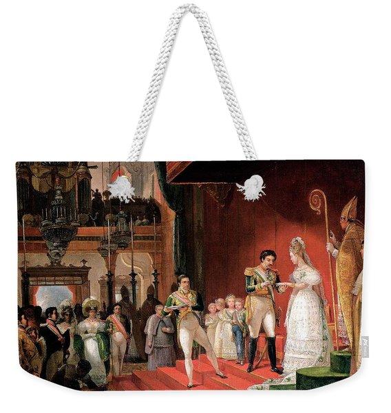 Second Marriage Weekender Tote Bag