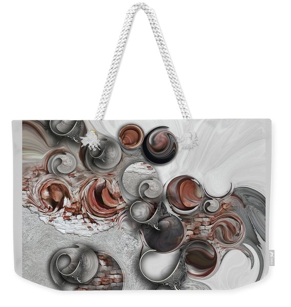 Secret Extracts From Linear Emotion Weekender Tote Bag