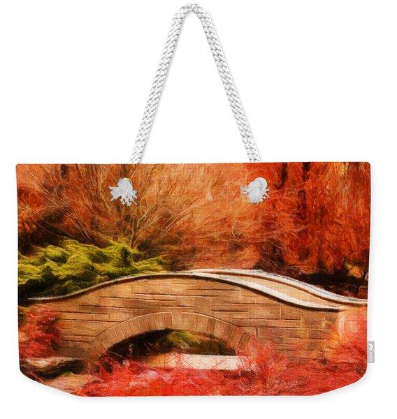 Secret Footbridge Weekender Tote Bag