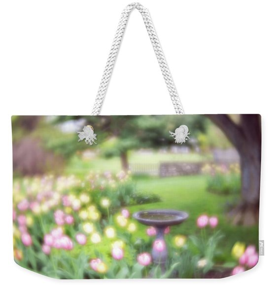 Weekender Tote Bag featuring the photograph Secret Garden 2 by Brian Hale