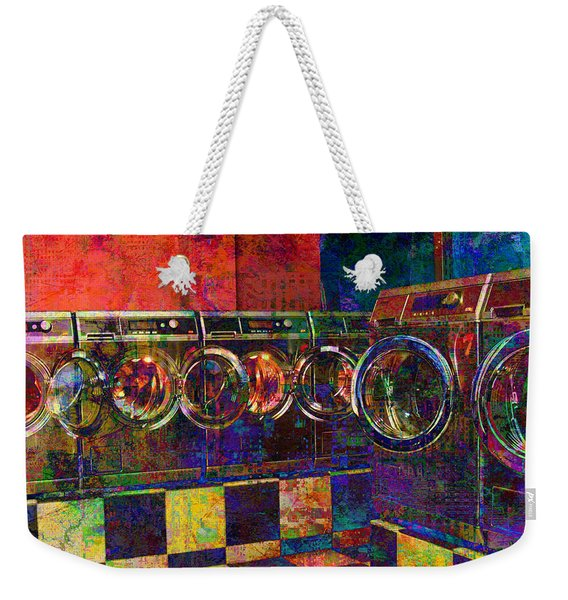 Secret Life Of Laundromats Weekender Tote Bag