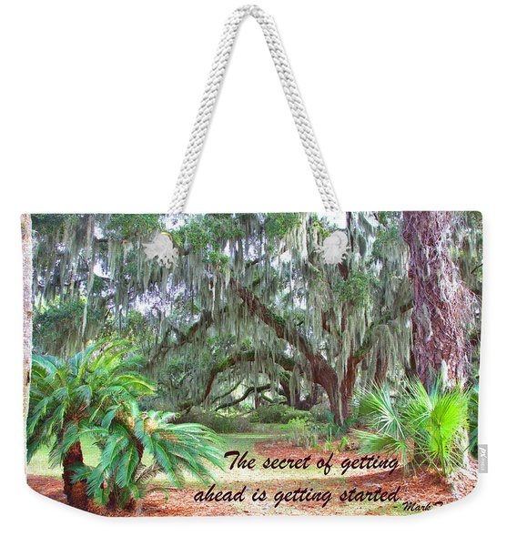 Secret Pathway Weekender Tote Bag