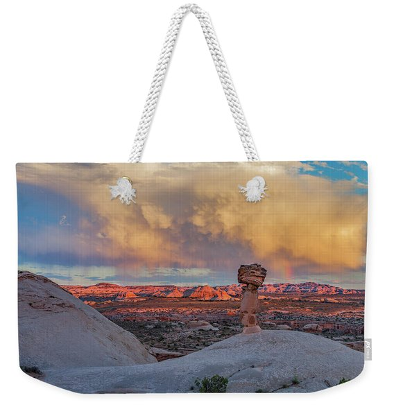 Secret Spire Sunset 2 Weekender Tote Bag