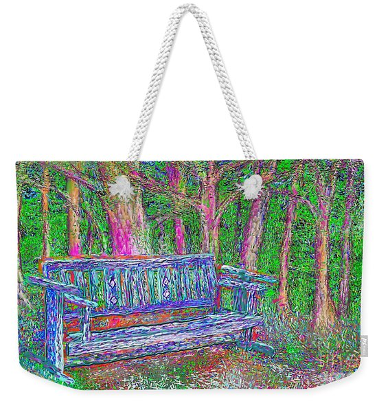Secret Spot Weekender Tote Bag