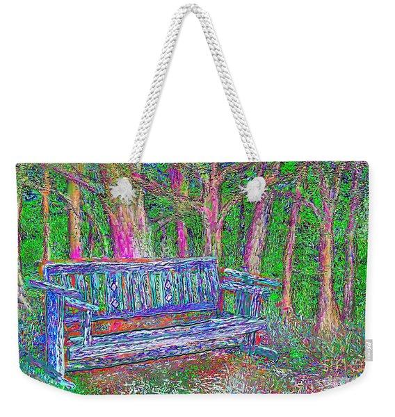 Secret Spot Weekender Tote Bag