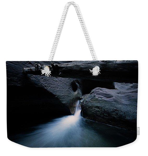 Secret Stream Weekender Tote Bag