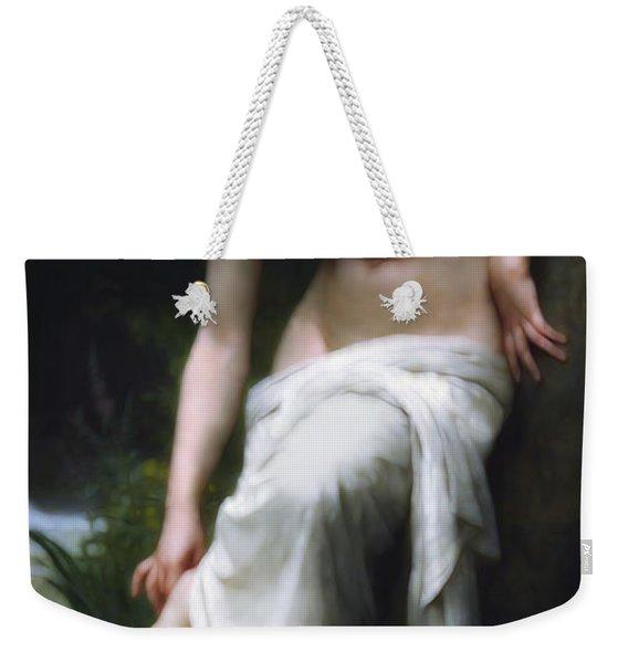 Secretly She Bathes At Night Weekender Tote Bag