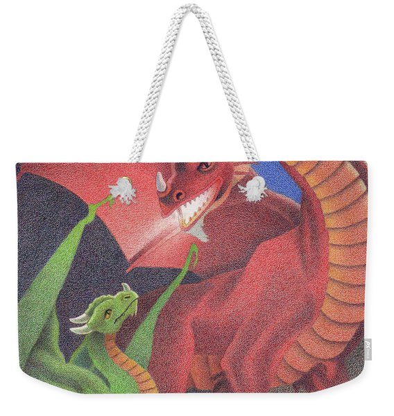Secrets Of The Flame Weekender Tote Bag