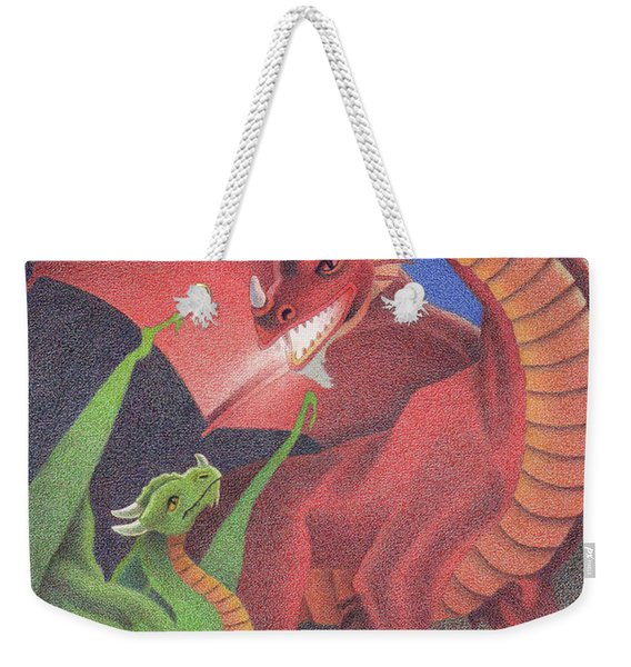 Secrets Of The Flame Weekender Tote Bag
