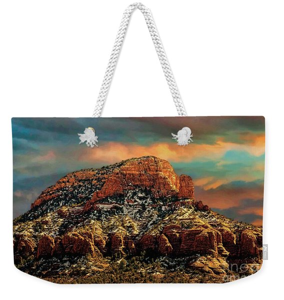 Sedona Dawn Weekender Tote Bag