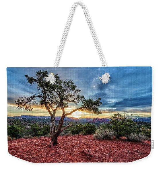 Sedona In The Morning Weekender Tote Bag