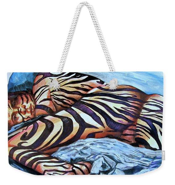 Seduction Of Stripes Weekender Tote Bag