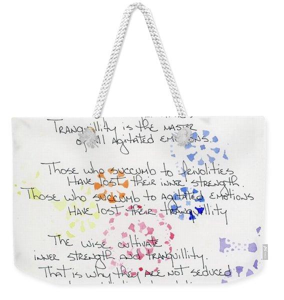 Seductions Of Tao Te Ching Weekender Tote Bag