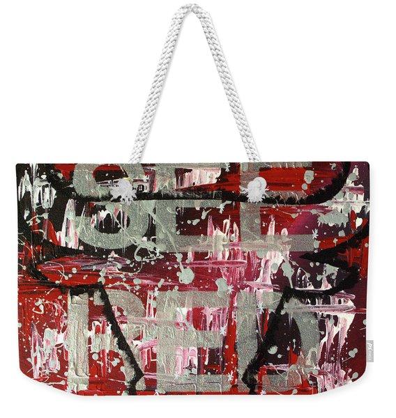 See Red Chicago Bulls Weekender Tote Bag