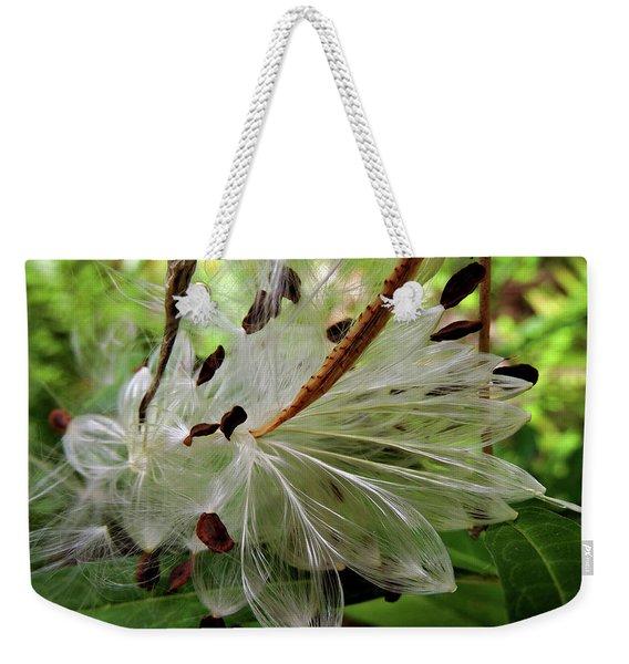 Seed Pods Weekender Tote Bag