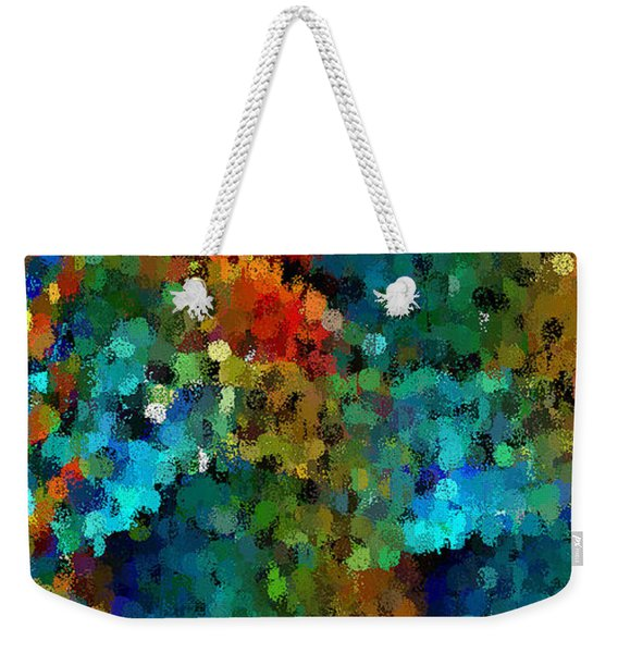Seeing In The Rain Weekender Tote Bag
