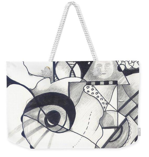 Seeking Comfort Weekender Tote Bag