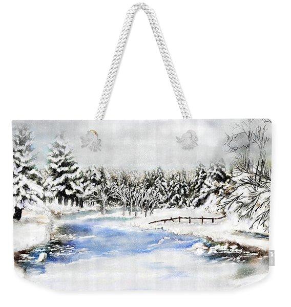 Seeley Montana Winter Weekender Tote Bag