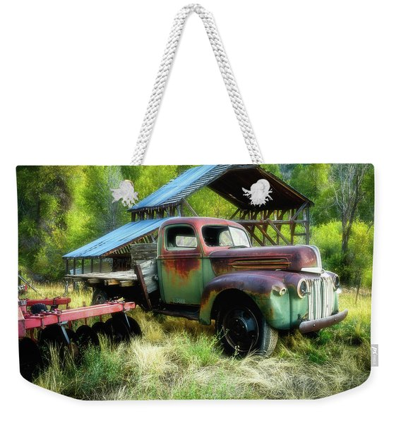 Seen Better Days - Ford Farm Truck Weekender Tote Bag