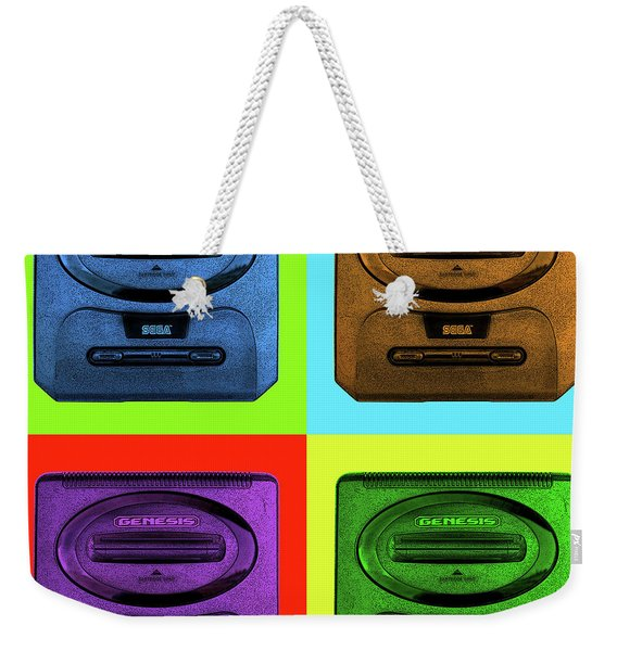 Sega Genesis Weekender Tote Bag