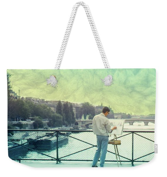 Seine River Inspiration Weekender Tote Bag