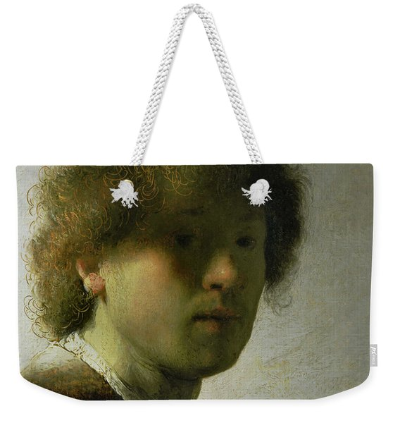 Self Portrait As A Young Man Weekender Tote Bag