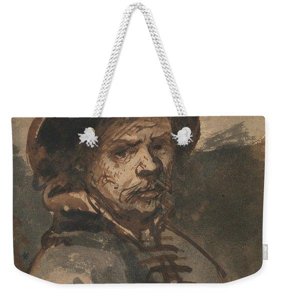 Self Portrait By Rembrandt Weekender Tote Bag