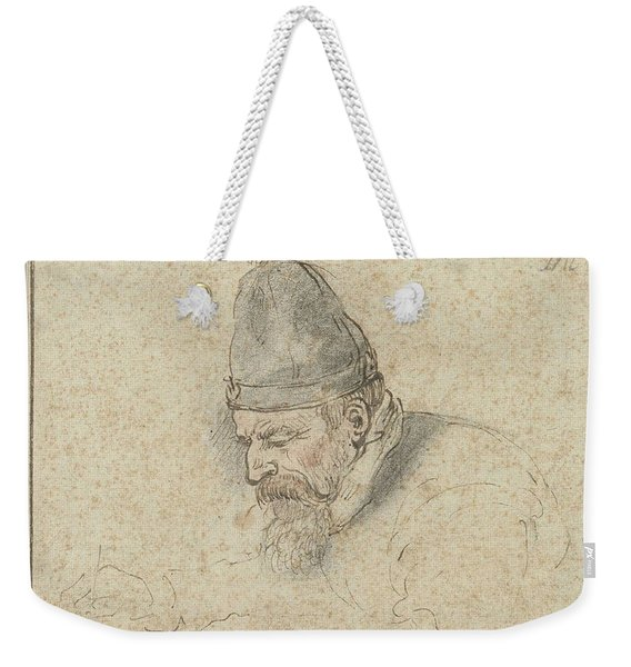 Self Portrait Of Henry Avercamp, Hendrick Avercamp, 1592-1629 Weekender Tote Bag