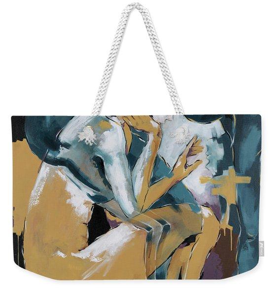 Self Reflection - Of A Dancer Weekender Tote Bag