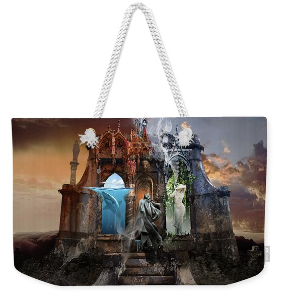 Self Reincarnation  Weekender Tote Bag