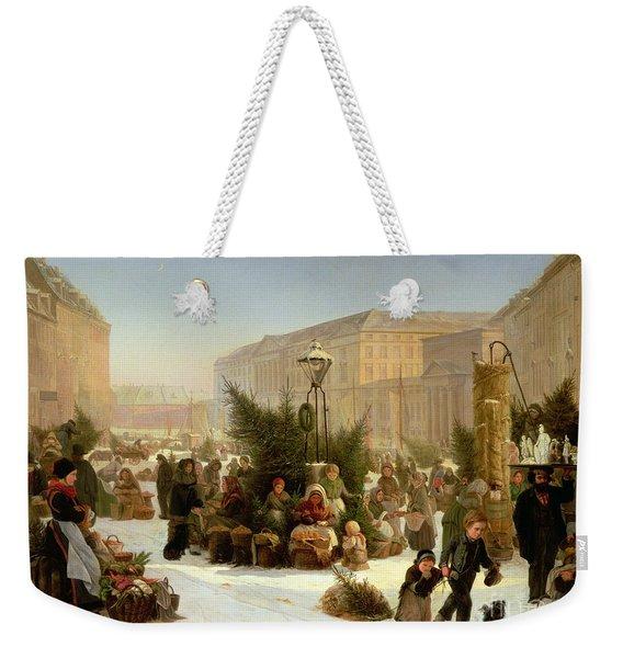 Selling Christmas Trees Weekender Tote Bag