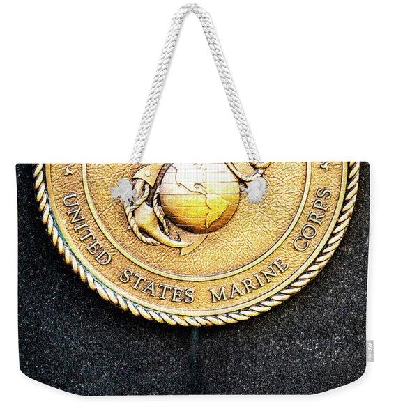 Semper Fi Weekender Tote Bag