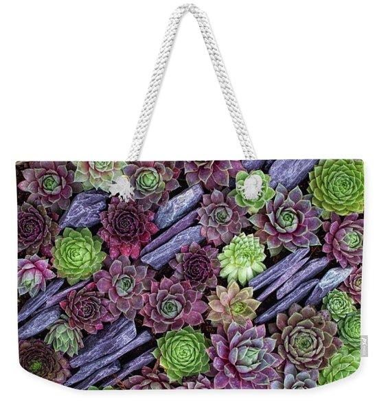Sempervivums Pattern Weekender Tote Bag