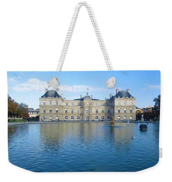 Senat From Jardin Du Luxembourg Weekender Tote Bag