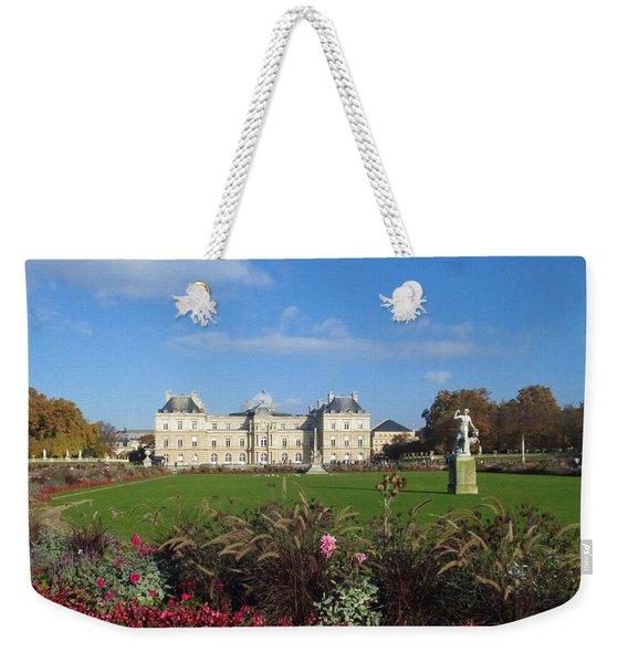 Senate From Jardin Du Luxembourg Weekender Tote Bag