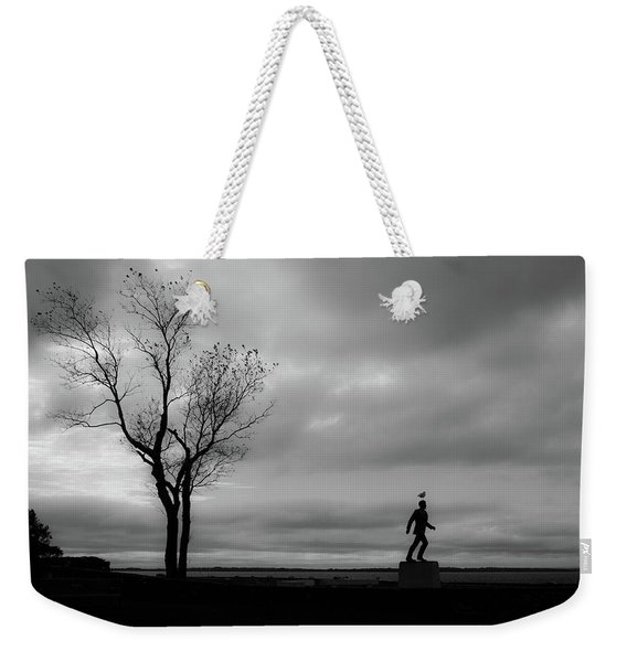 Senator Chafee And The Tree Weekender Tote Bag