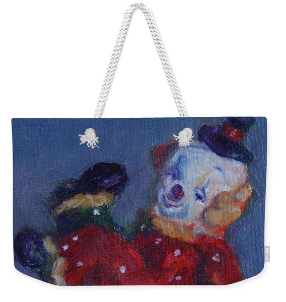 Send In The Clowns Weekender Tote Bag