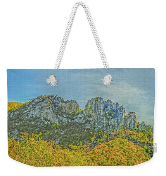 Seneca Rock West Virginia Weekender Tote Bag