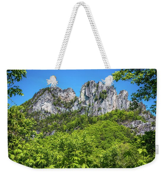 Seneca Rocks Weekender Tote Bag