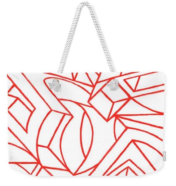 Sentences Weekender Tote Bag
