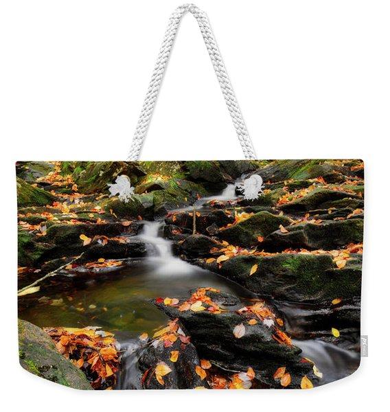 Senter Falls Weekender Tote Bag