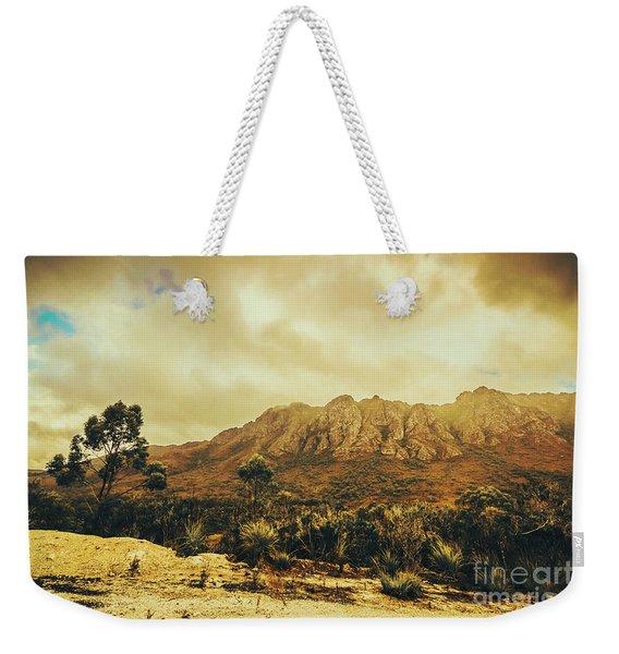 Sentinel Range Tasmania Weekender Tote Bag