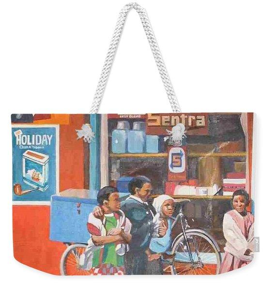 Sentra Weekender Tote Bag