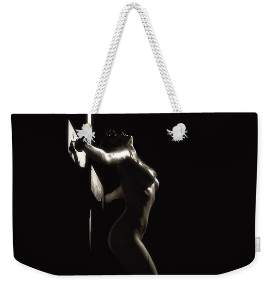 Sepia Crucifix Vc Weekender Tote Bag