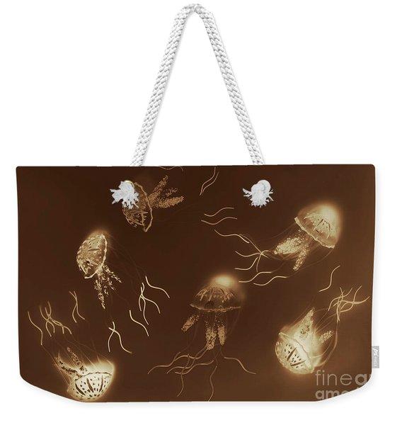 Sepia Seas Weekender Tote Bag