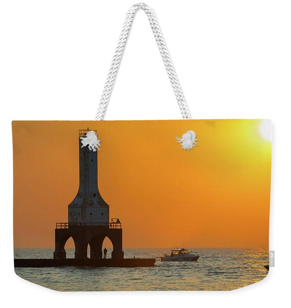 September Catch I Weekender Tote Bag