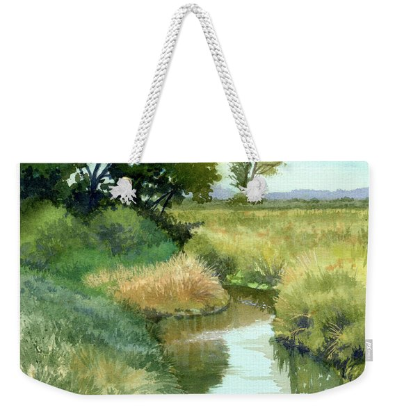 September Morning, Allen Creek Weekender Tote Bag
