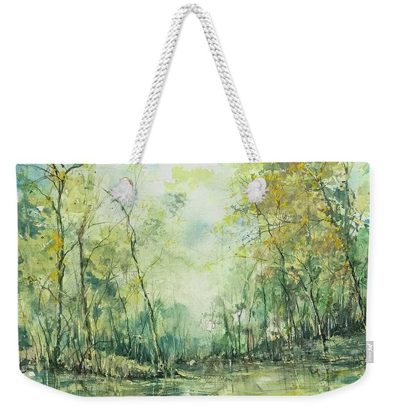 September's Silence  Weekender Tote Bag