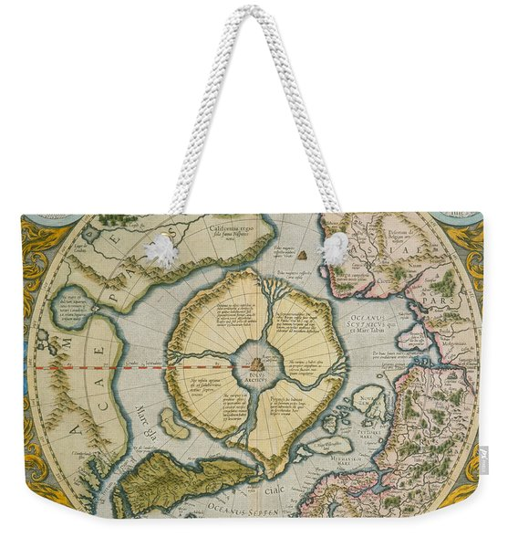Septentrionalium Terrarum Descriptio Weekender Tote Bag