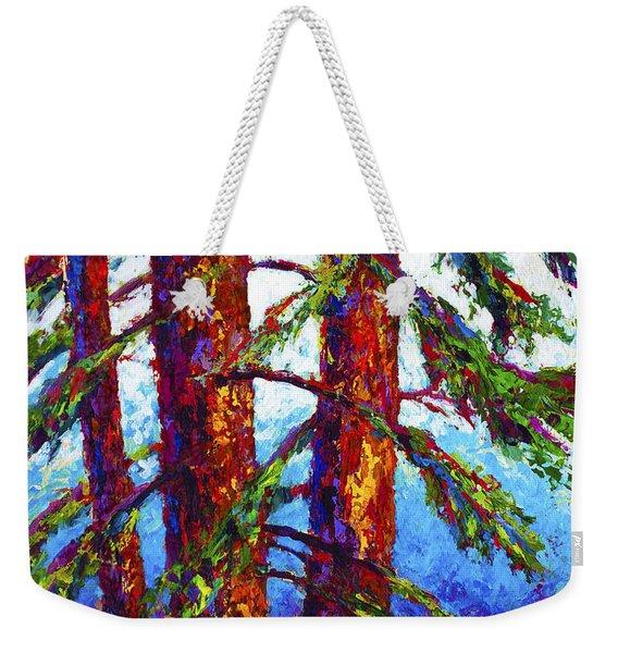 Sequoia Weekender Tote Bag